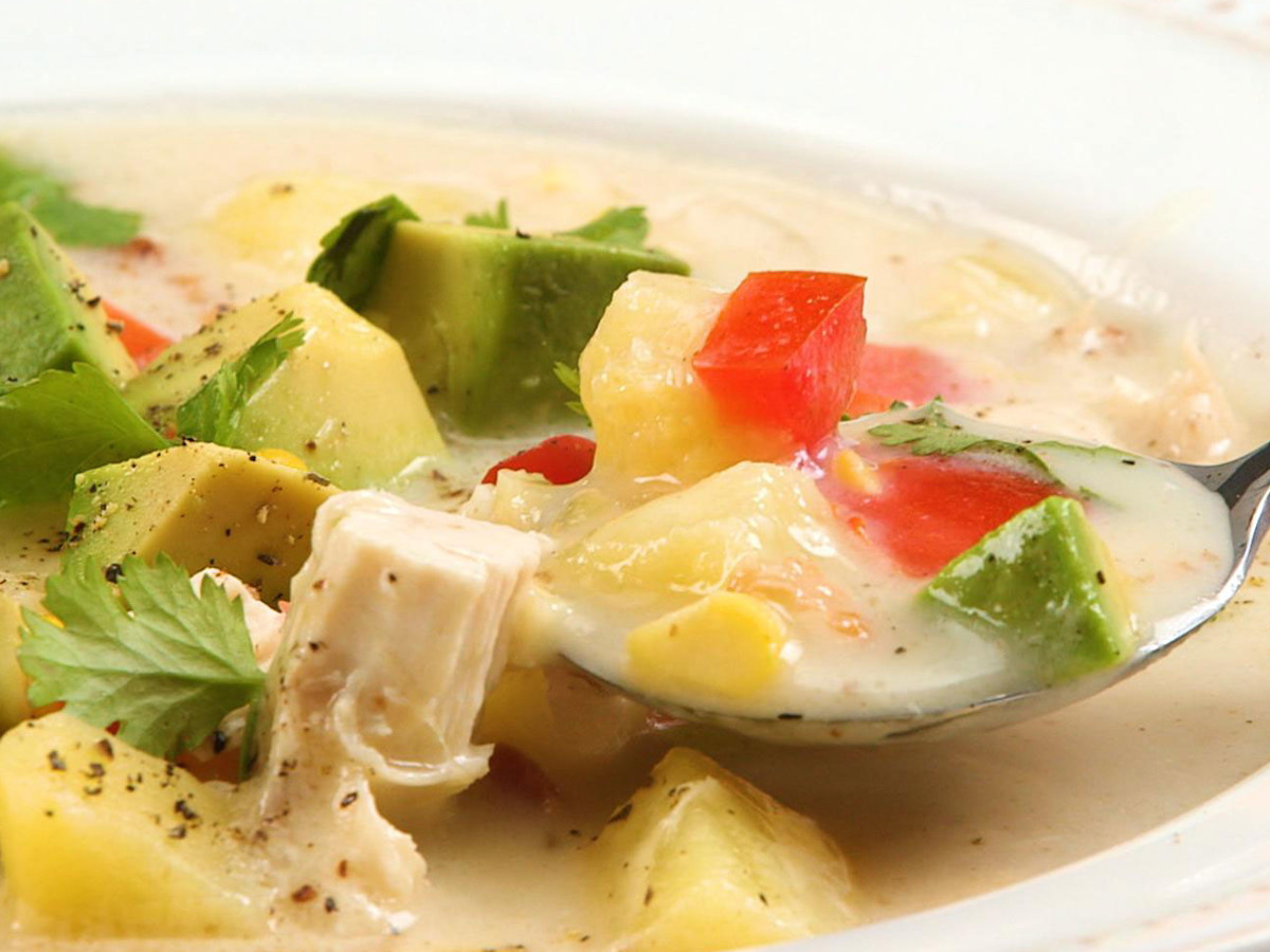 Well Done Chicken and Corn Summer Chowder