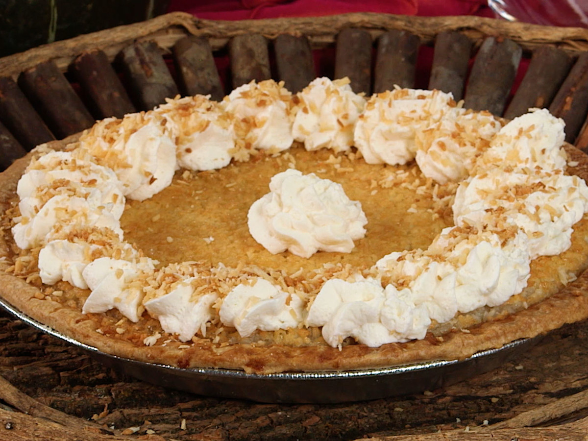 Kathy G French Coconut Pie