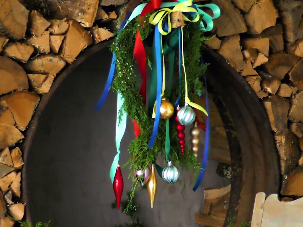 Colorful Hanging Ornaments