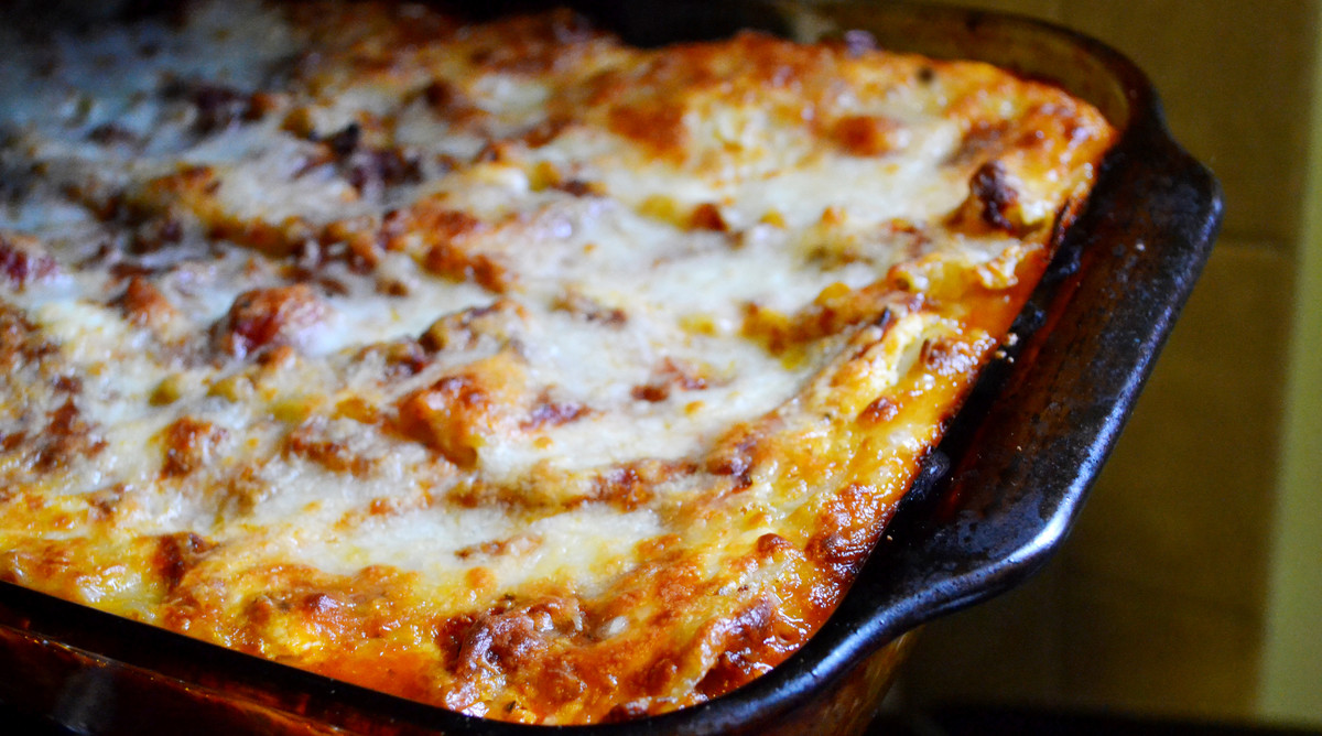 Homemade Baked Lasagna Recipe