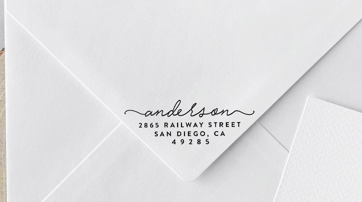 Custom Address Stamp