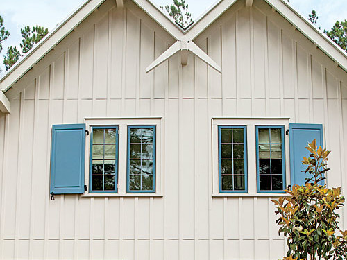 Palmetto Bluff Try Vertical Siding for an Updated Look