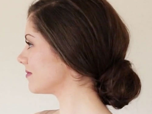 The Low Bun with Volume