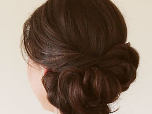The Side Twist Hairstyle