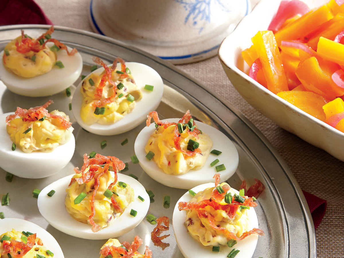 The Secret To The Best Deviled Eggs