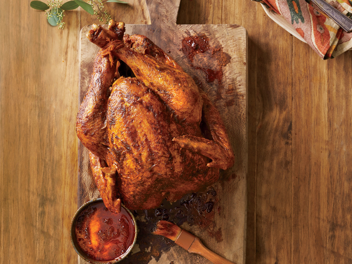 Pepper Bacon Fried Turkey Recipe