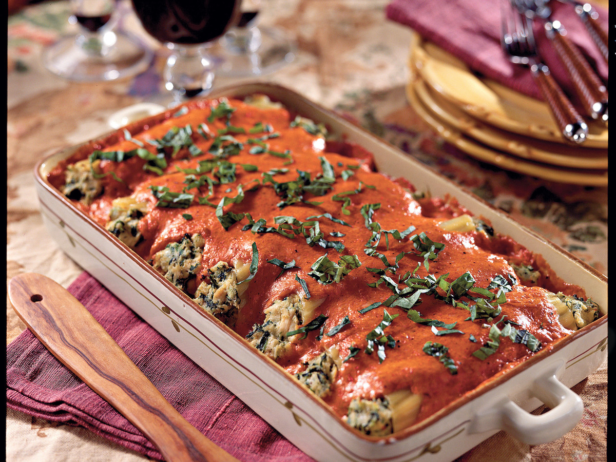 Chicken Cannelloni Casserole Recipes