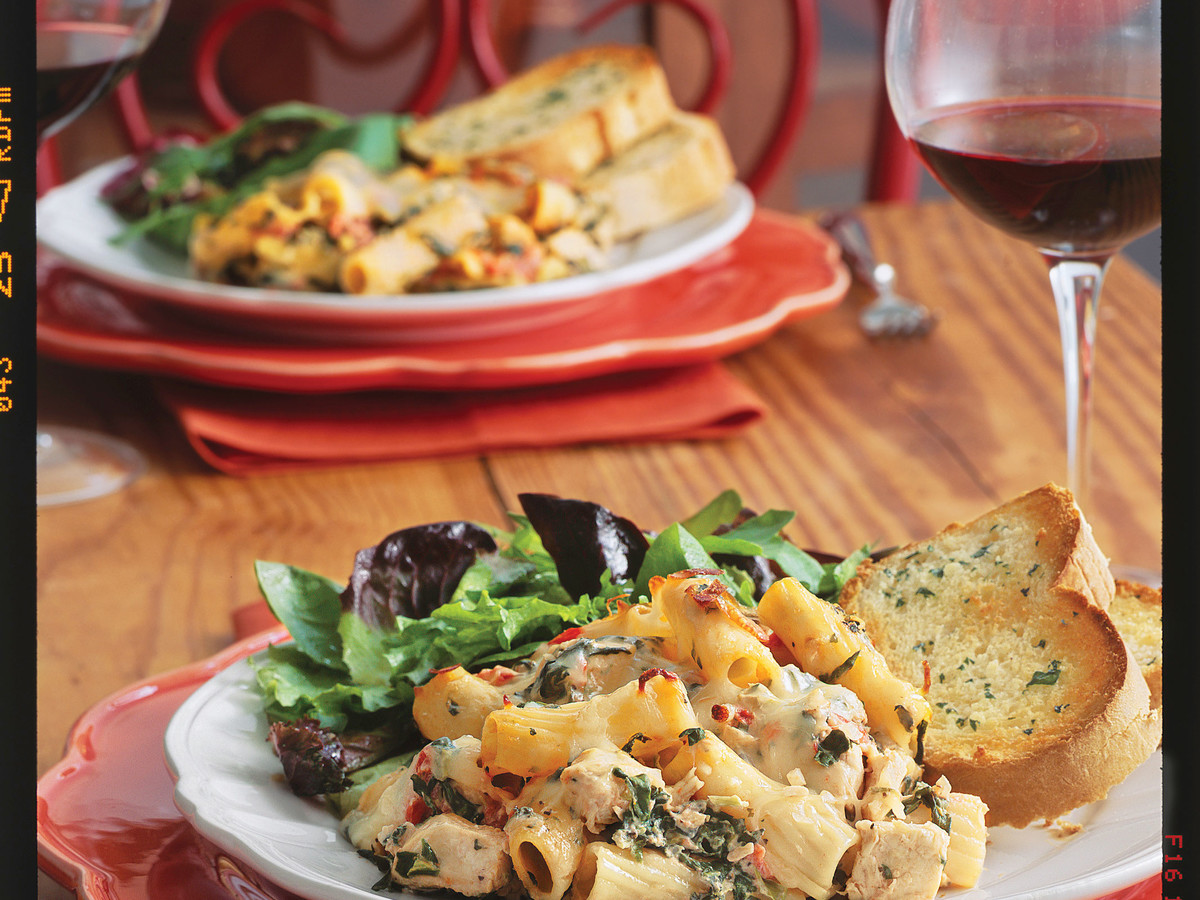 Chicken 'n' Spinach Pasta Bake Casserole Recipes