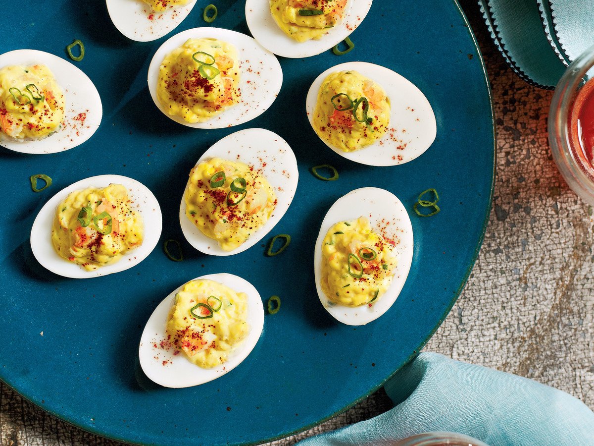 Shrimp Remoulade Deviled Eggs Recipe