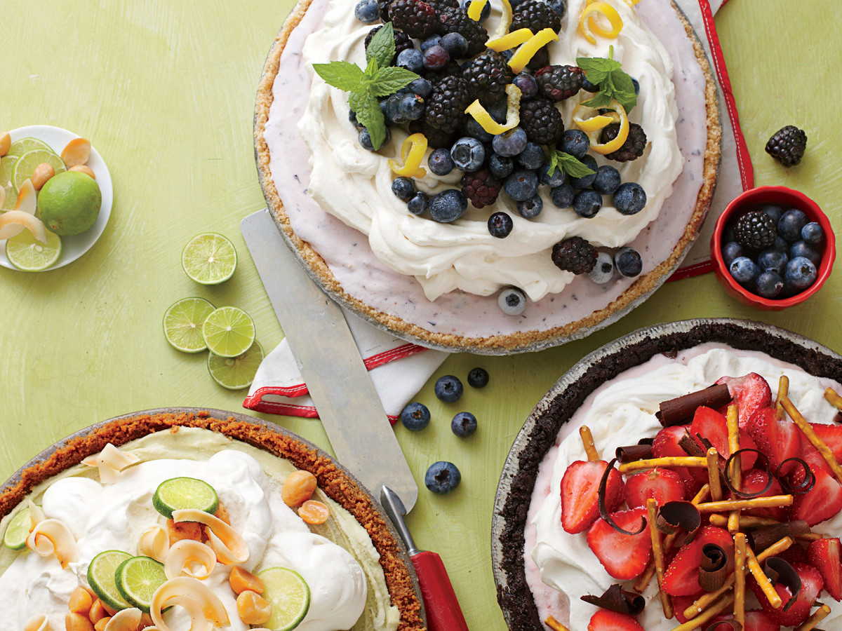 Build Your Own Ice-Cream Pie