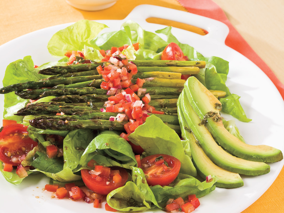 Healthy Food Recipe: Roasted Asparagus Salad