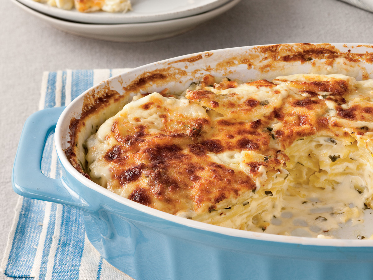 Classic Parmesan Scalloped Potatoes