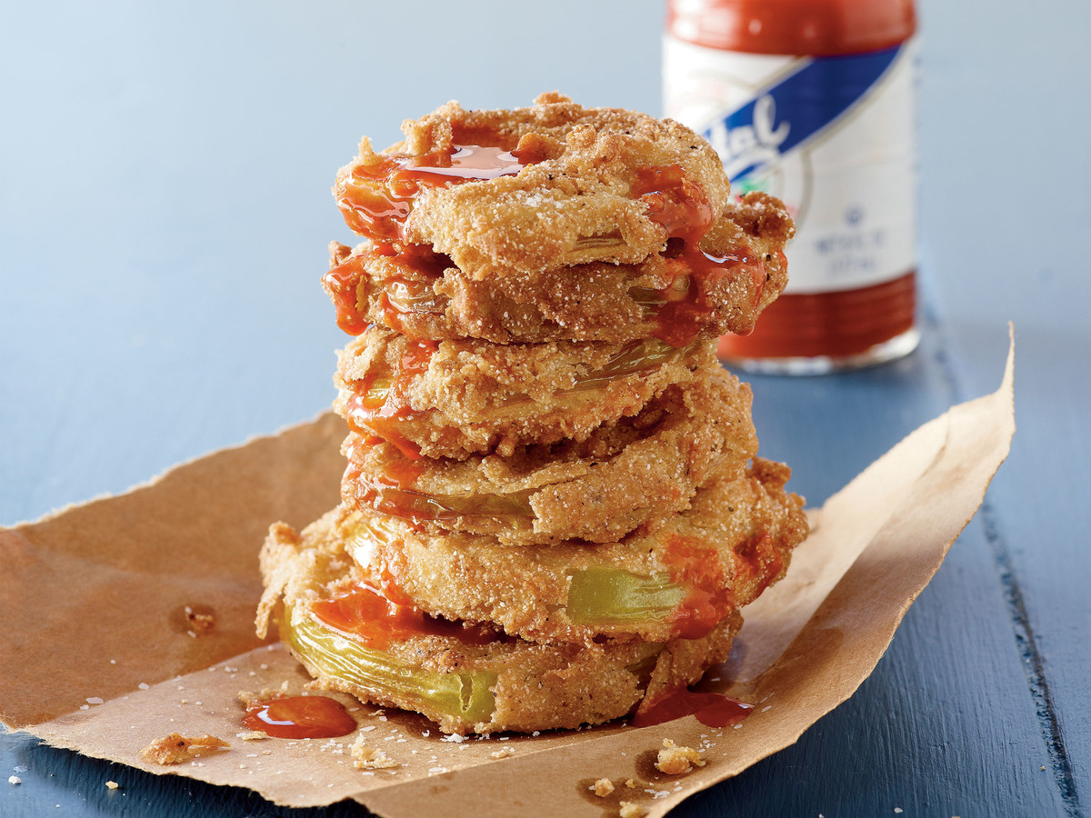how to eat fried green tomatoes