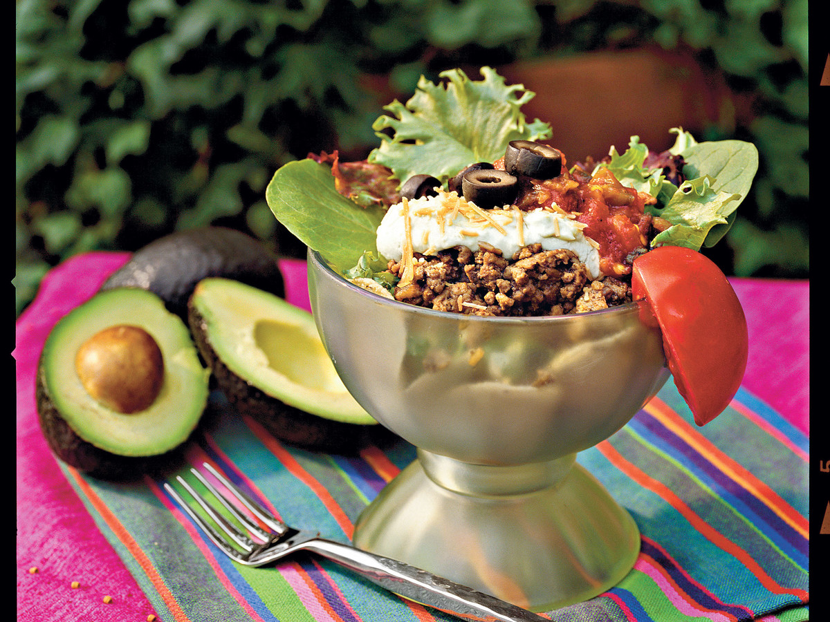 Ground Beef Recipes: Fiesta Salad
