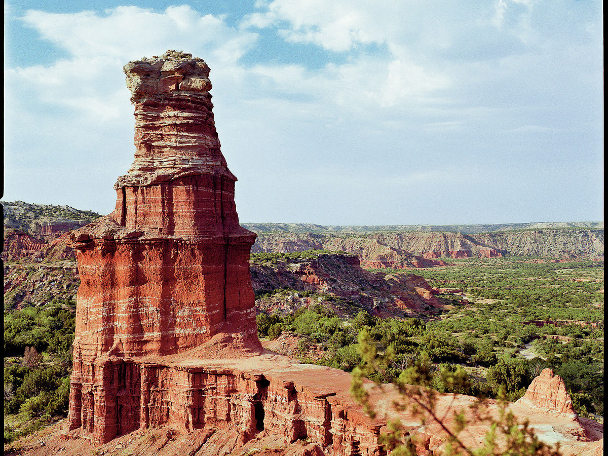 Wow Factor: At 120 miles long, 20 miles wide, and 800 feet deep, it's the second largest canyon in the U.S., with  painted  canyon walls and intricate formations.You'll Love If: You dream of being in a Western.Explore It: Take a horseback ride through t