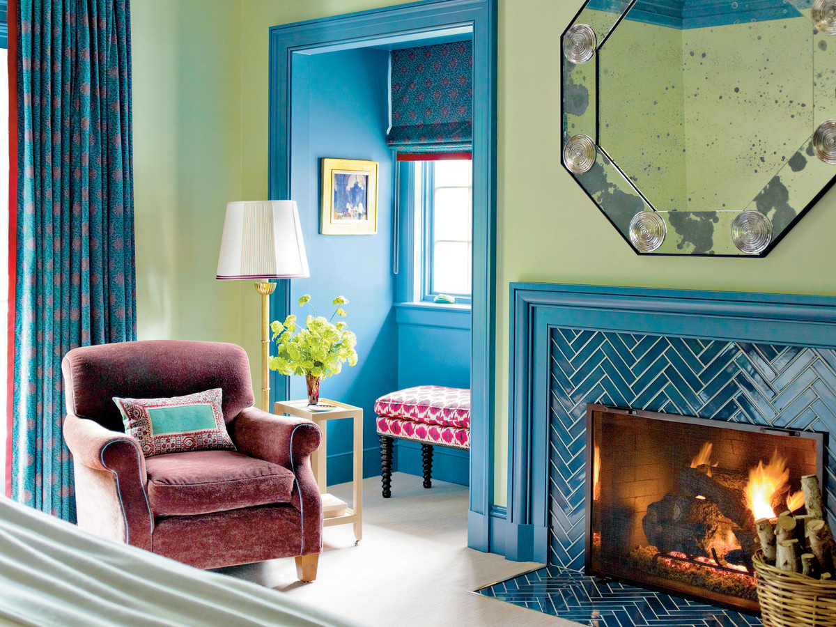 Decorating with Color: Katie Ridder\'s Arkansas Home - Southern Living