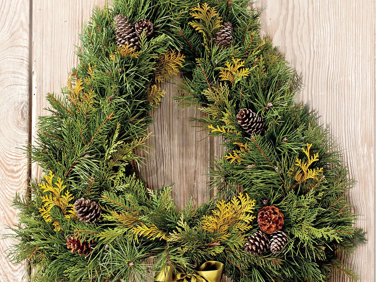 Tree Form Wreath