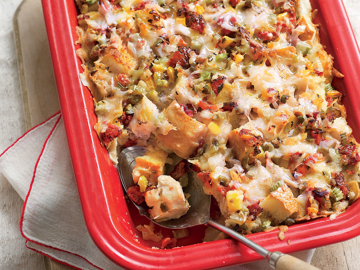 King Ranch Breakfast Strata