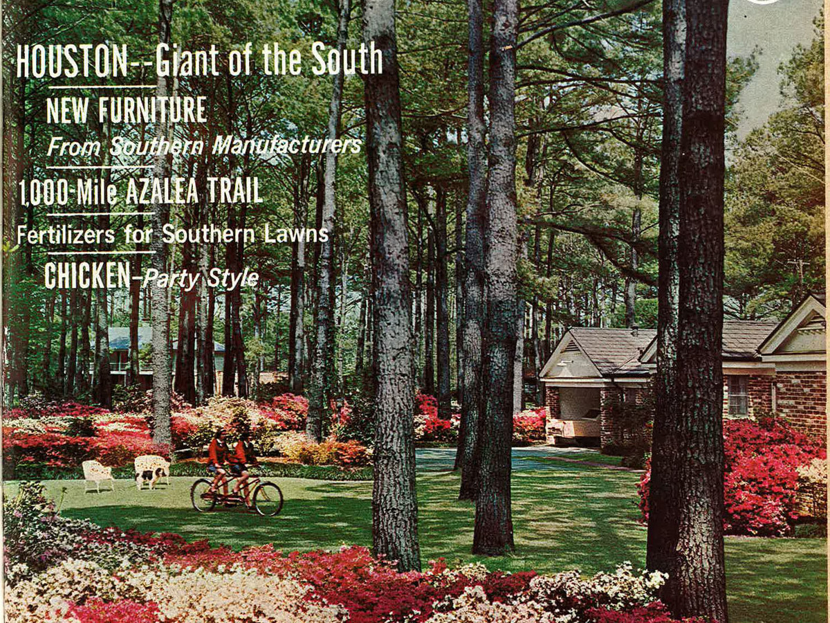 Southern Living First Cover February 1966