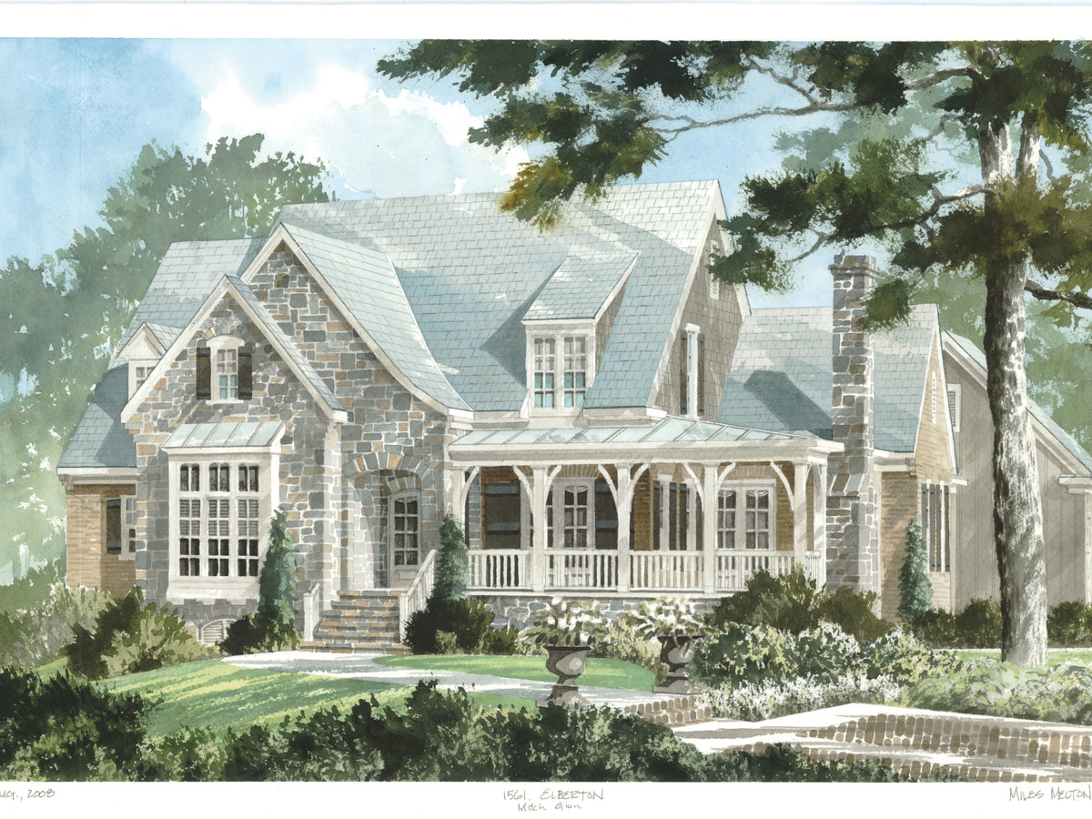 Elberton Way, Plan #1561