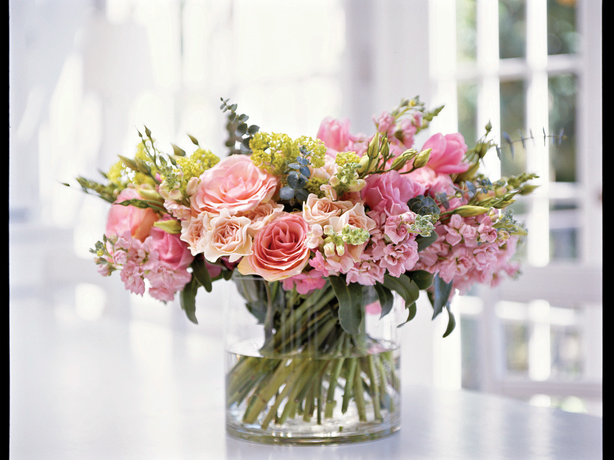 How to Make a Posy Bouquet: Gather Flowers for Bouquet