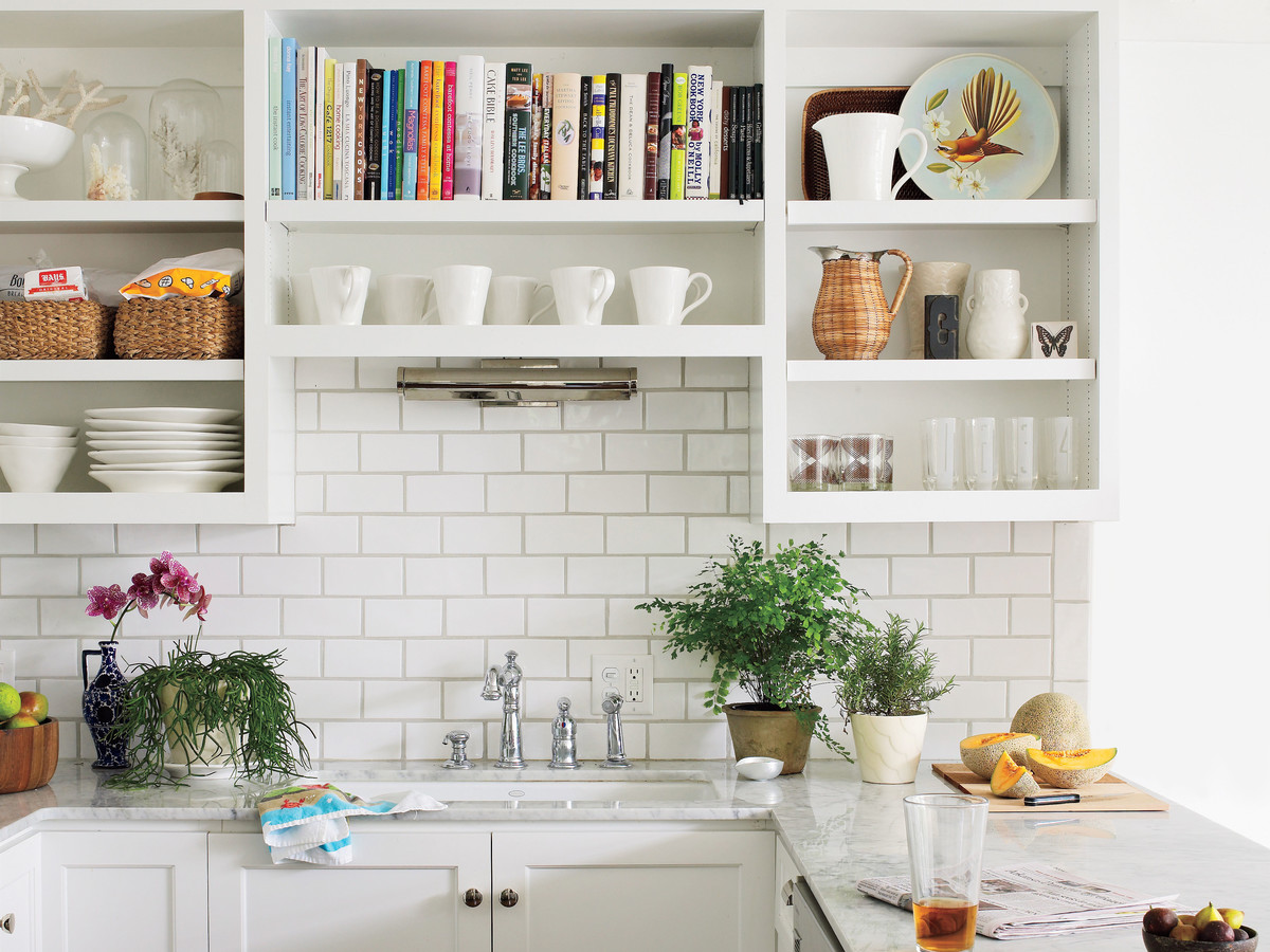 Small Modern White Kitchen The One Thing