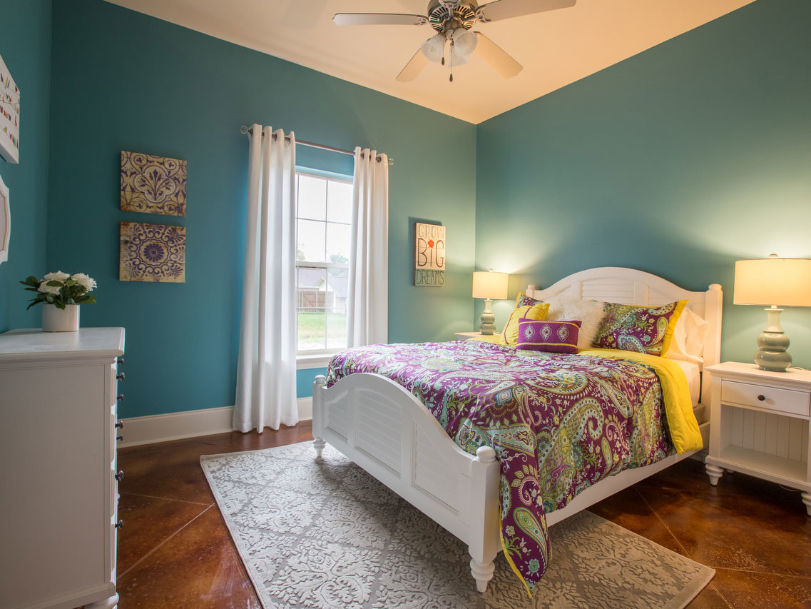 Young Family Home Makeover Girl's Bedroom