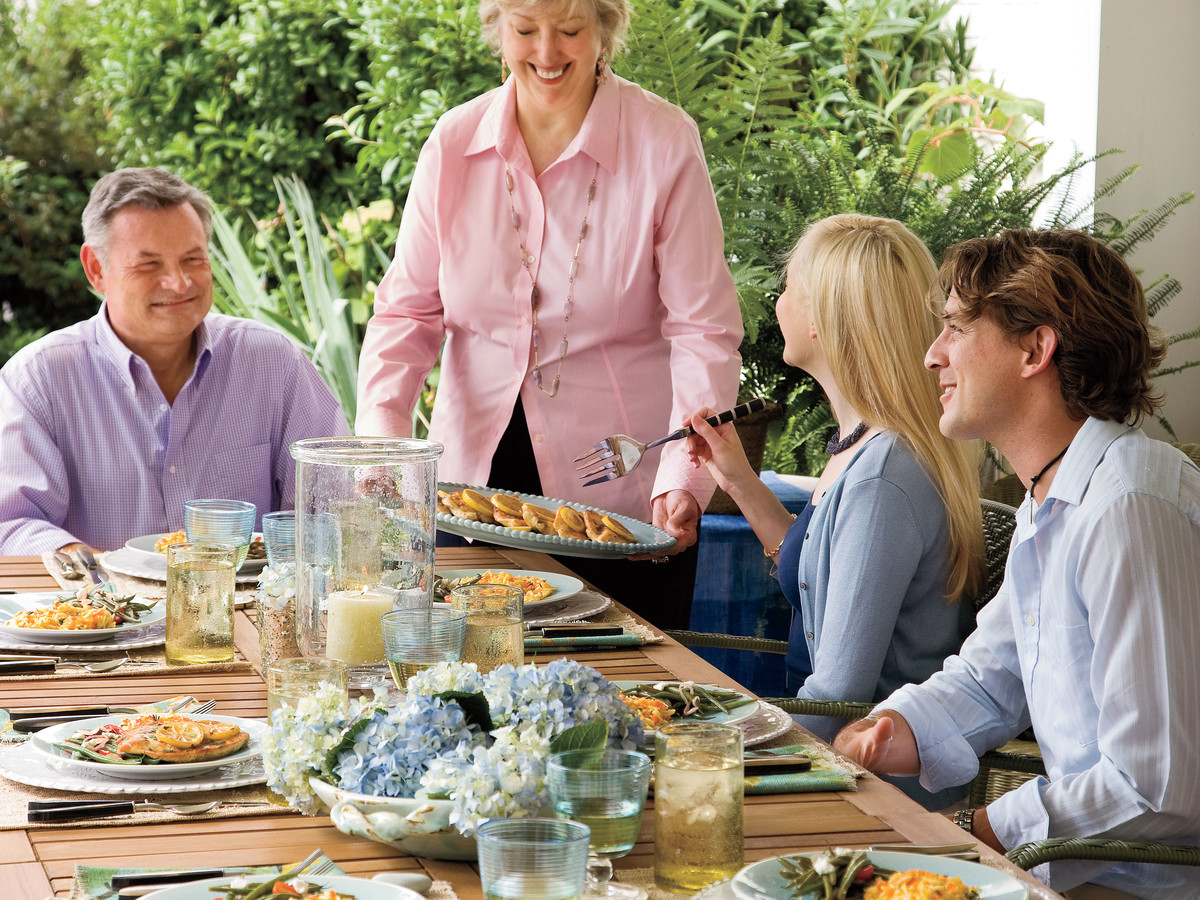 Quick and Easy Summer Party Menu: Karen's Table