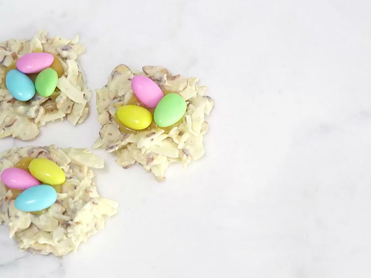 Real Simple Chocolate Easter Nests Image