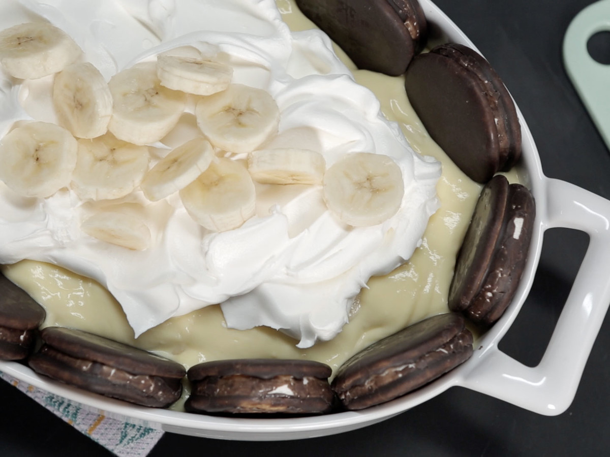 Over the Moon Banana Pudding Image