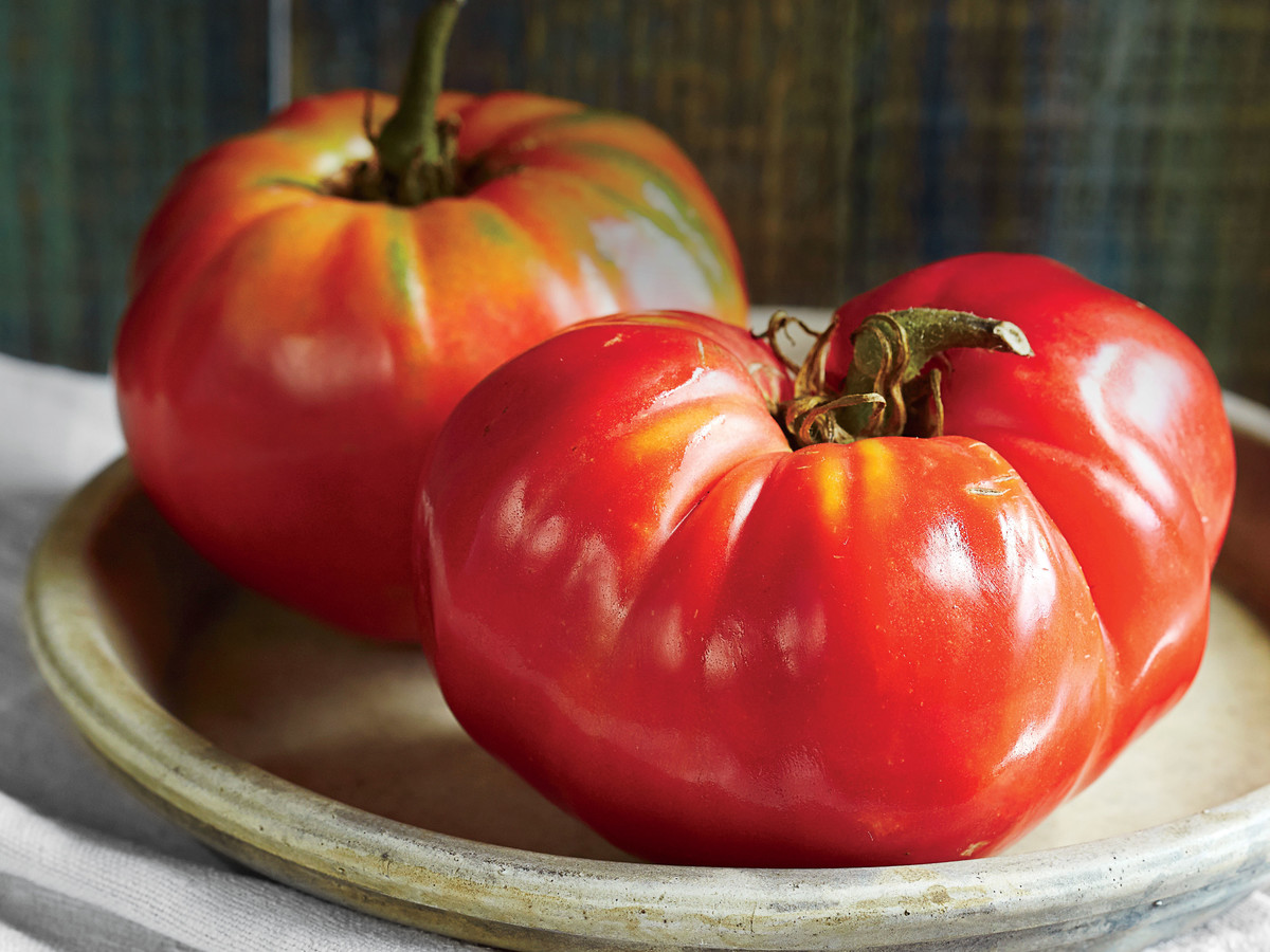 Two Heirloom Tomatoes