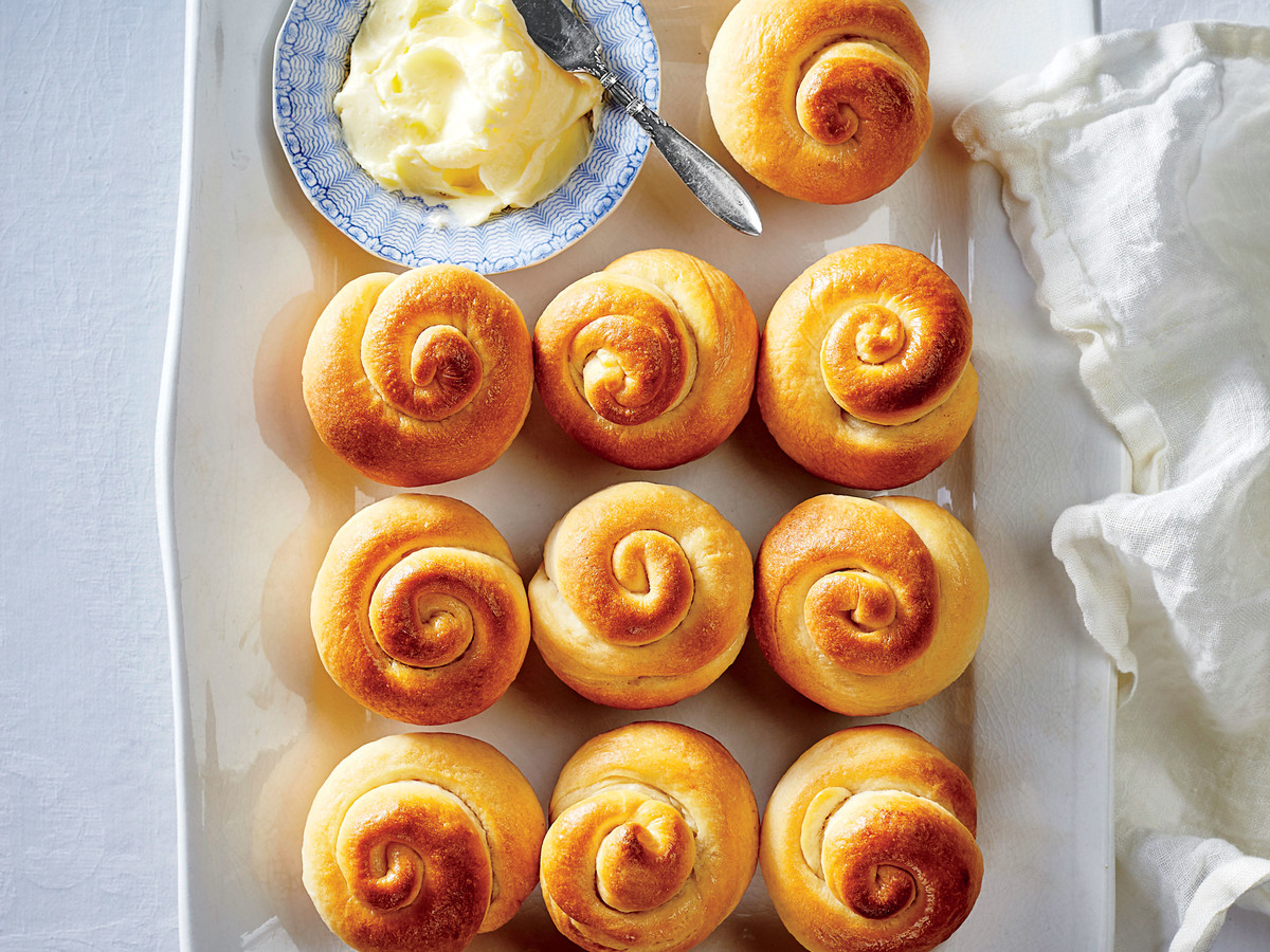 Thanksgiving Yeast Rolls