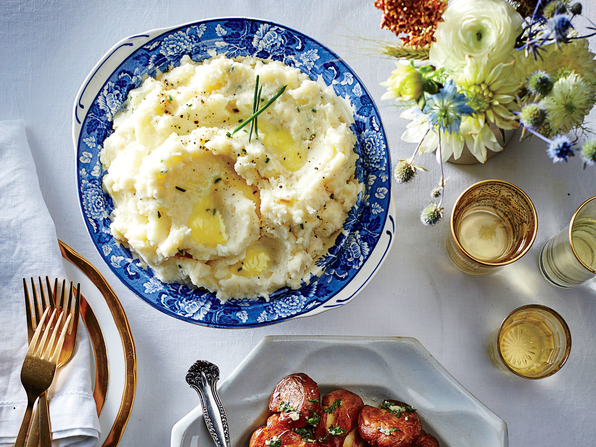 Goat Cheese Mashed Potatoes