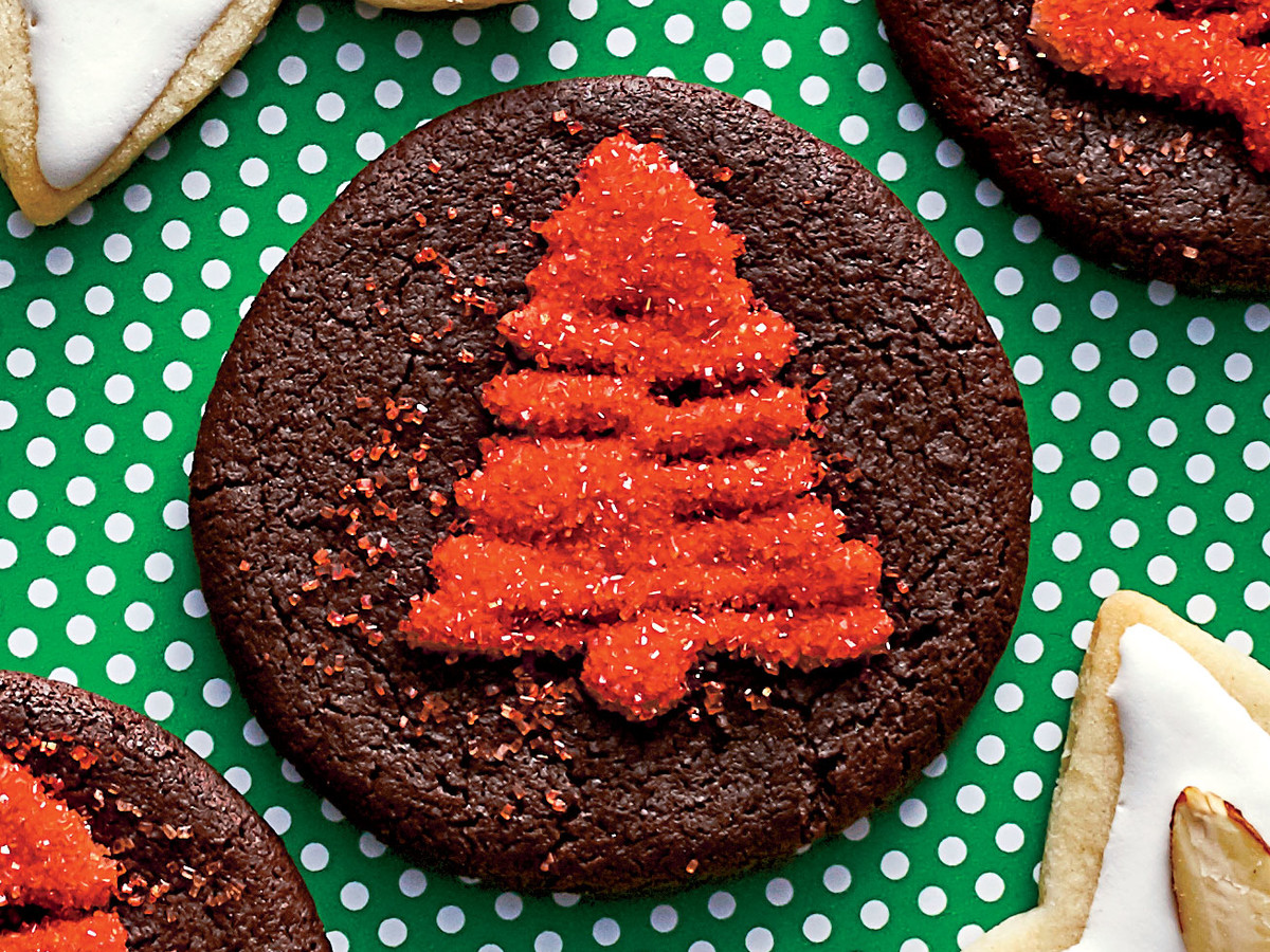 Chocolate Cutout Cookie