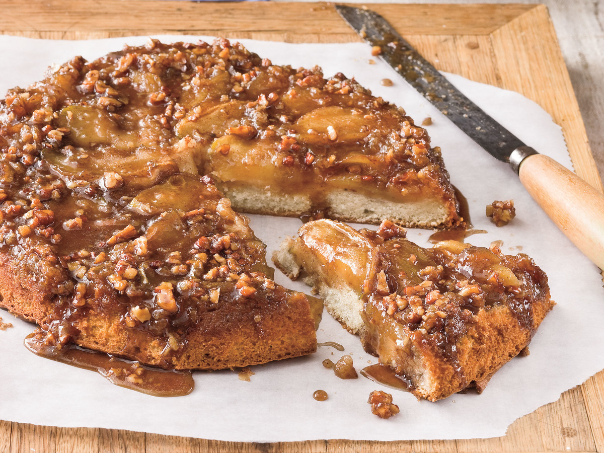 Caramelized Apple Upside Down Cake Recipe - Southern Living