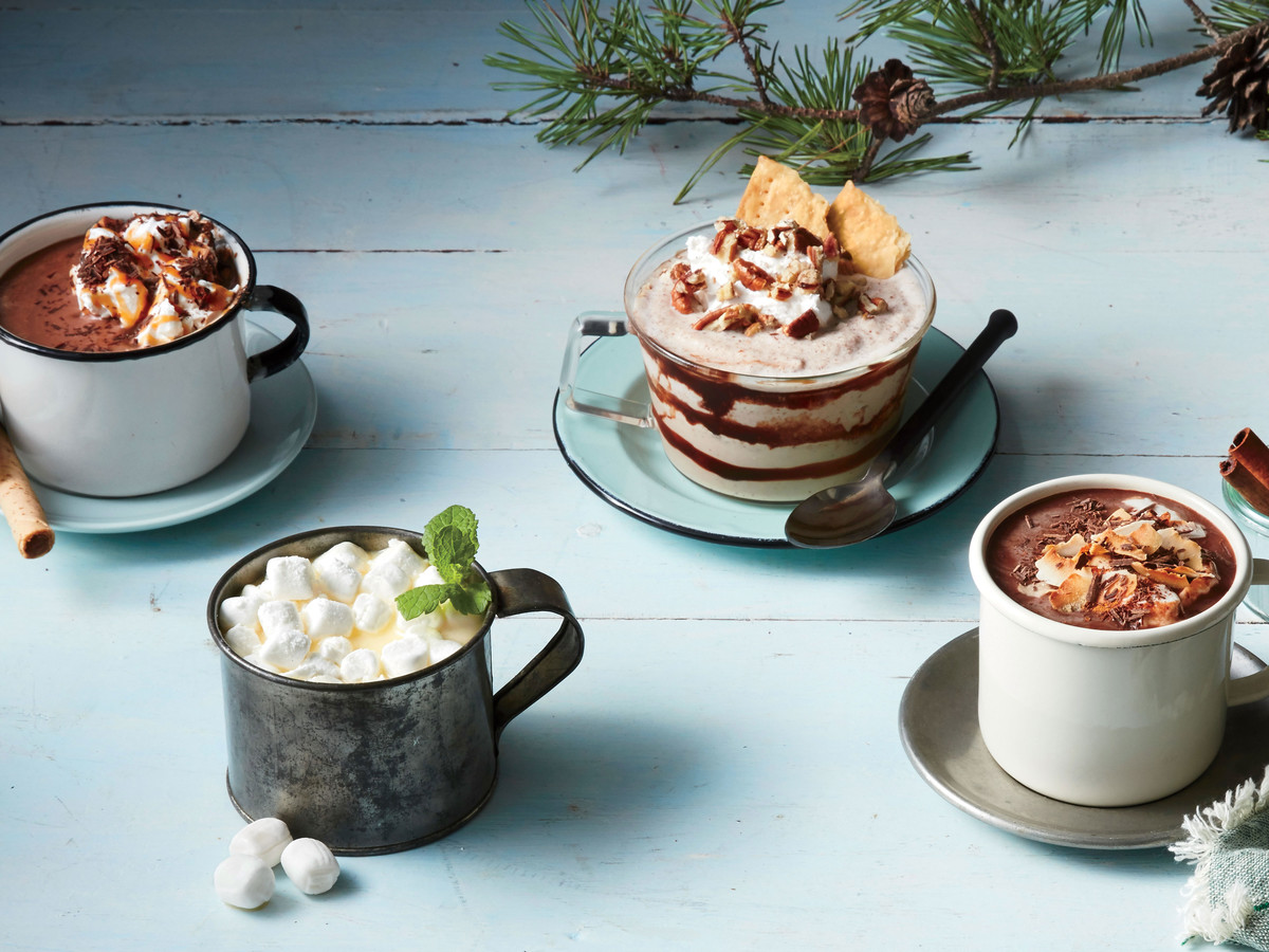 Frozen Pecan Pie Hot Chocolate