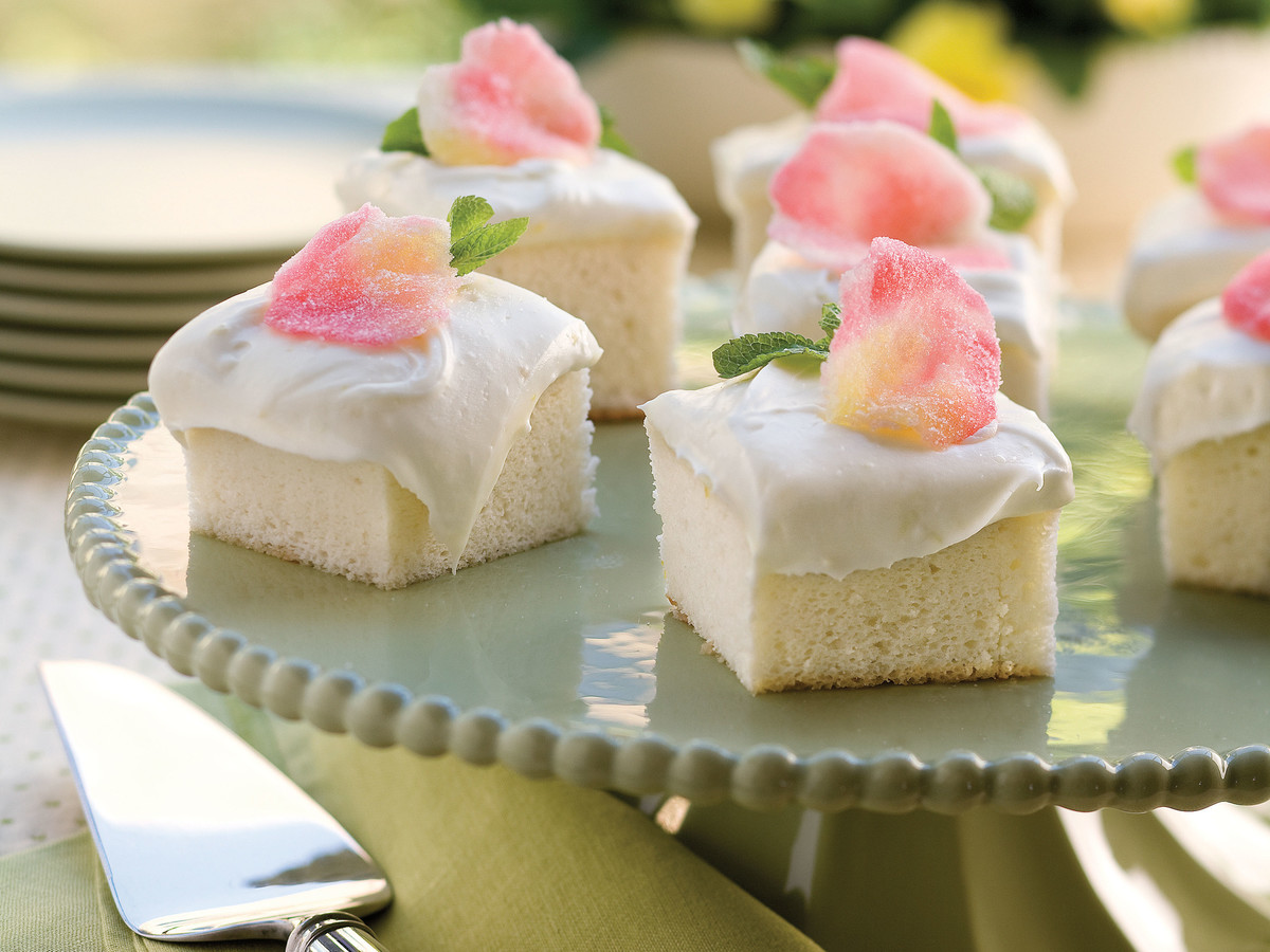 Sweet Valentine's Day Treats Heavenly Angel Food Cake