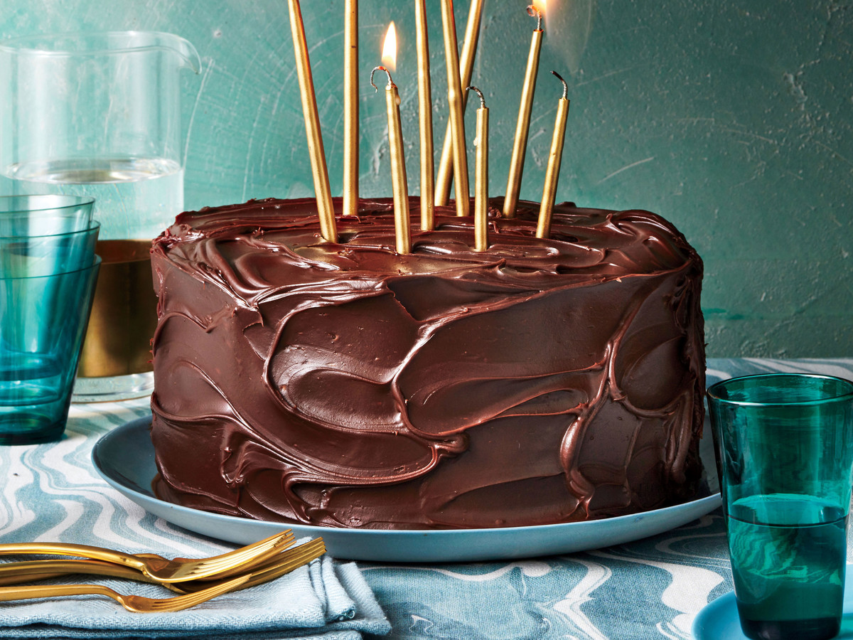 Triple-Layer Chocolate-Caramel Cake Recipe