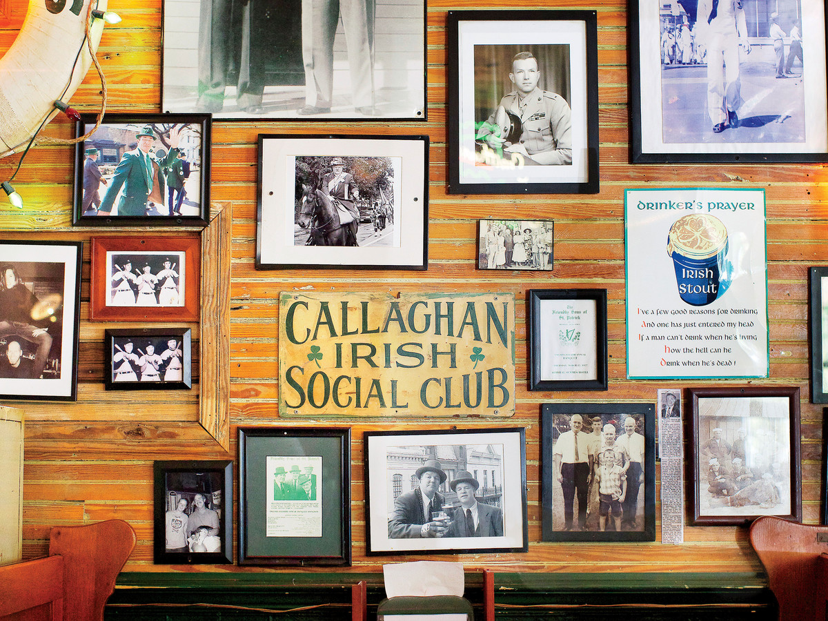 Callaghan's Irish Pub Gallery Wall