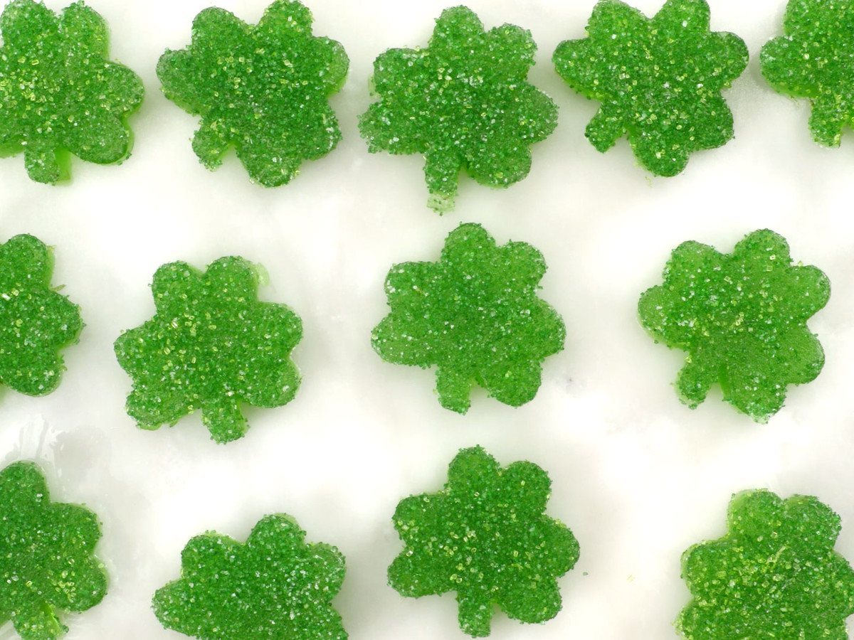 Gummy Shamrocks Still