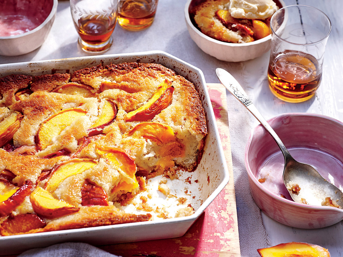 Food Network The Kitchen Peach Cobbler Recipe