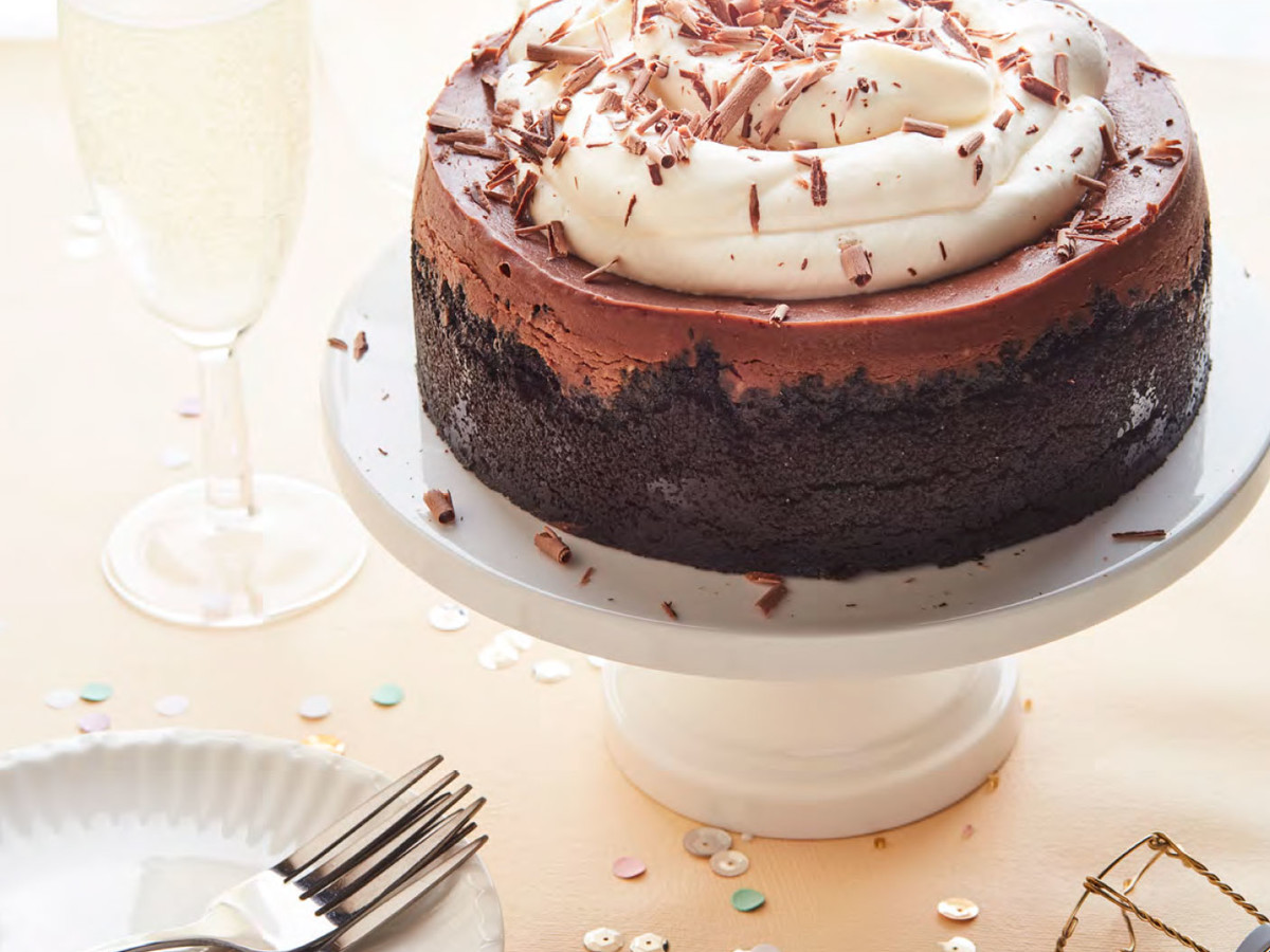 Instant Pot Double Chocolate Cheesecake