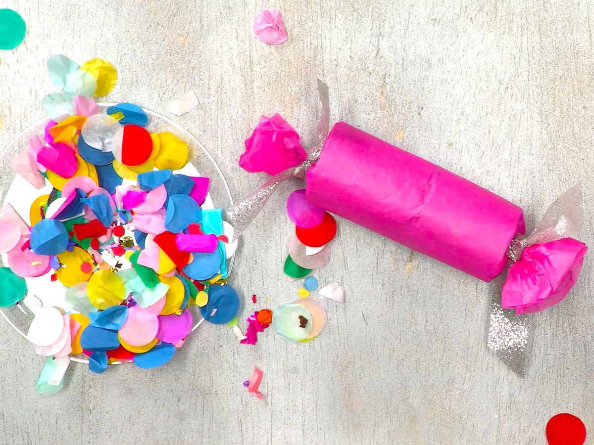 How to Make Confetti Party Poppers