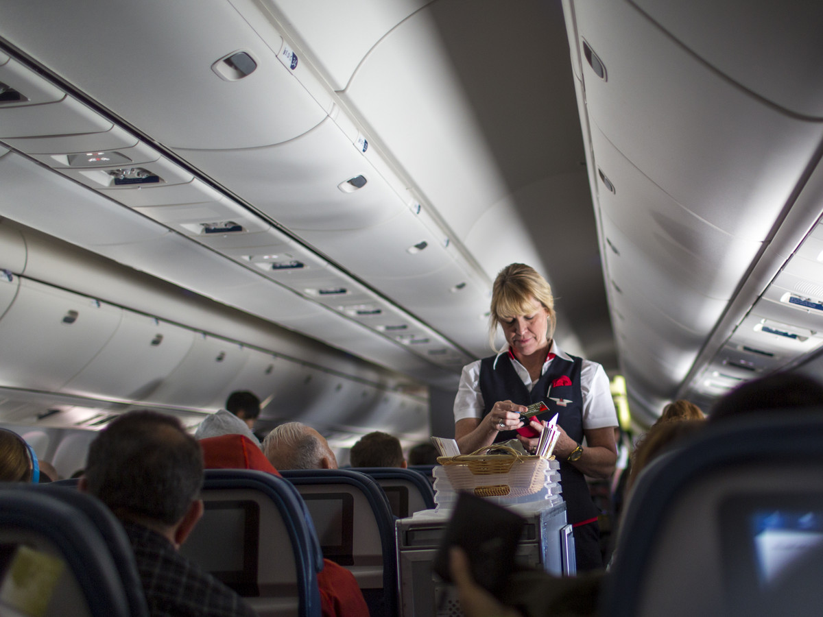 Delta Airlines Flight Attendant