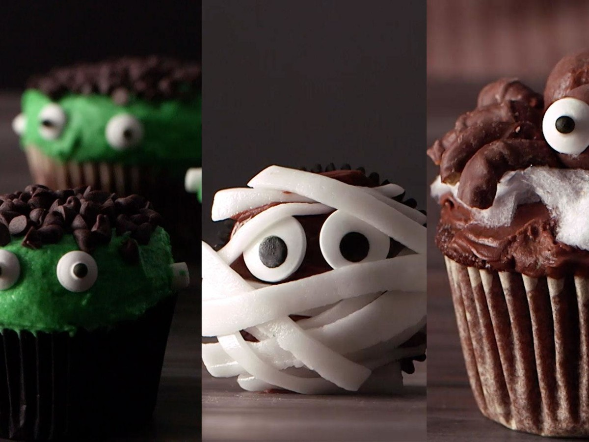 Halloween Cupcakes Video