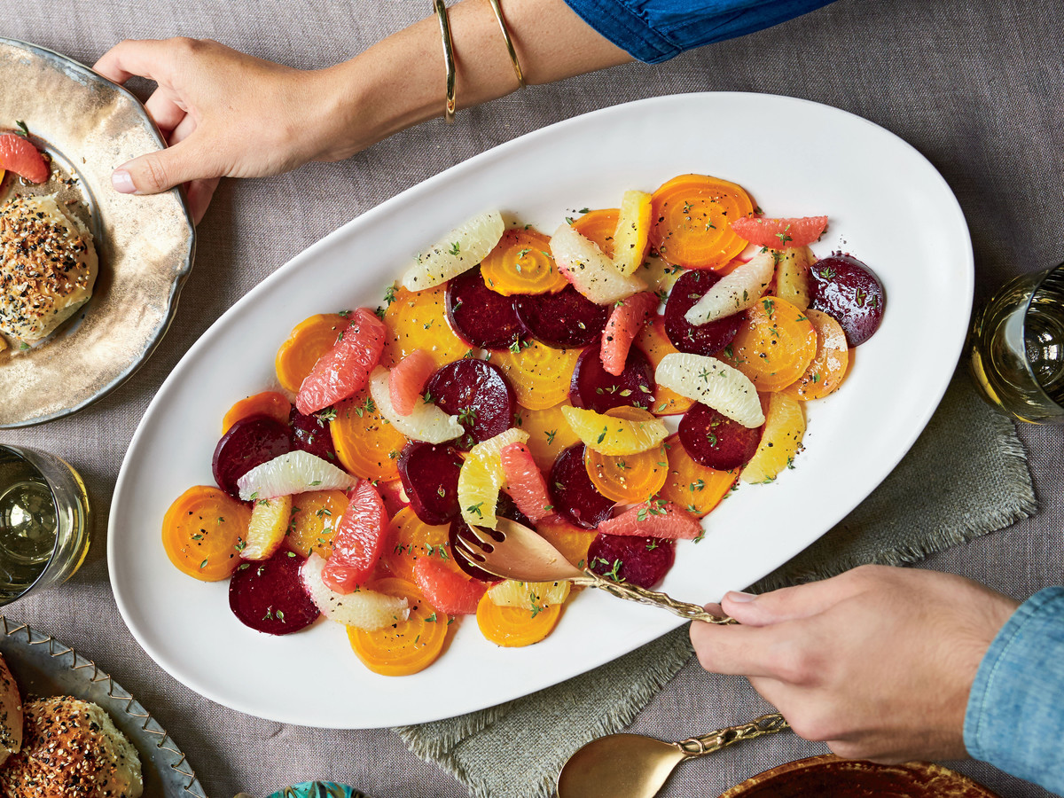 Roasted Beet-and-Citrus Salad with Honey-Orange Vinaigrette