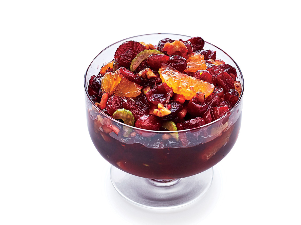 Spiked Cranberry-Orange Salad