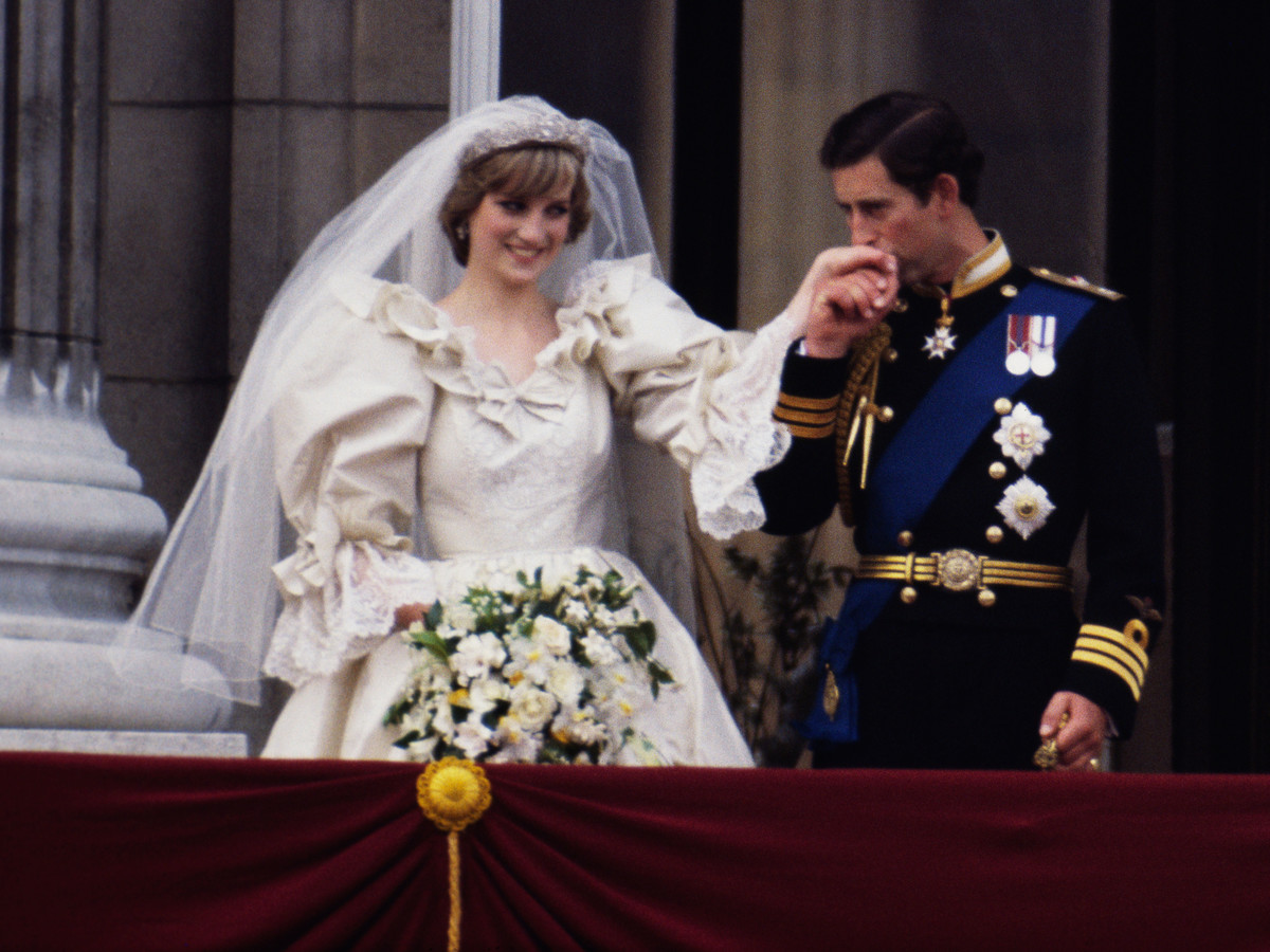 Princess Diana Wedding Bouquet