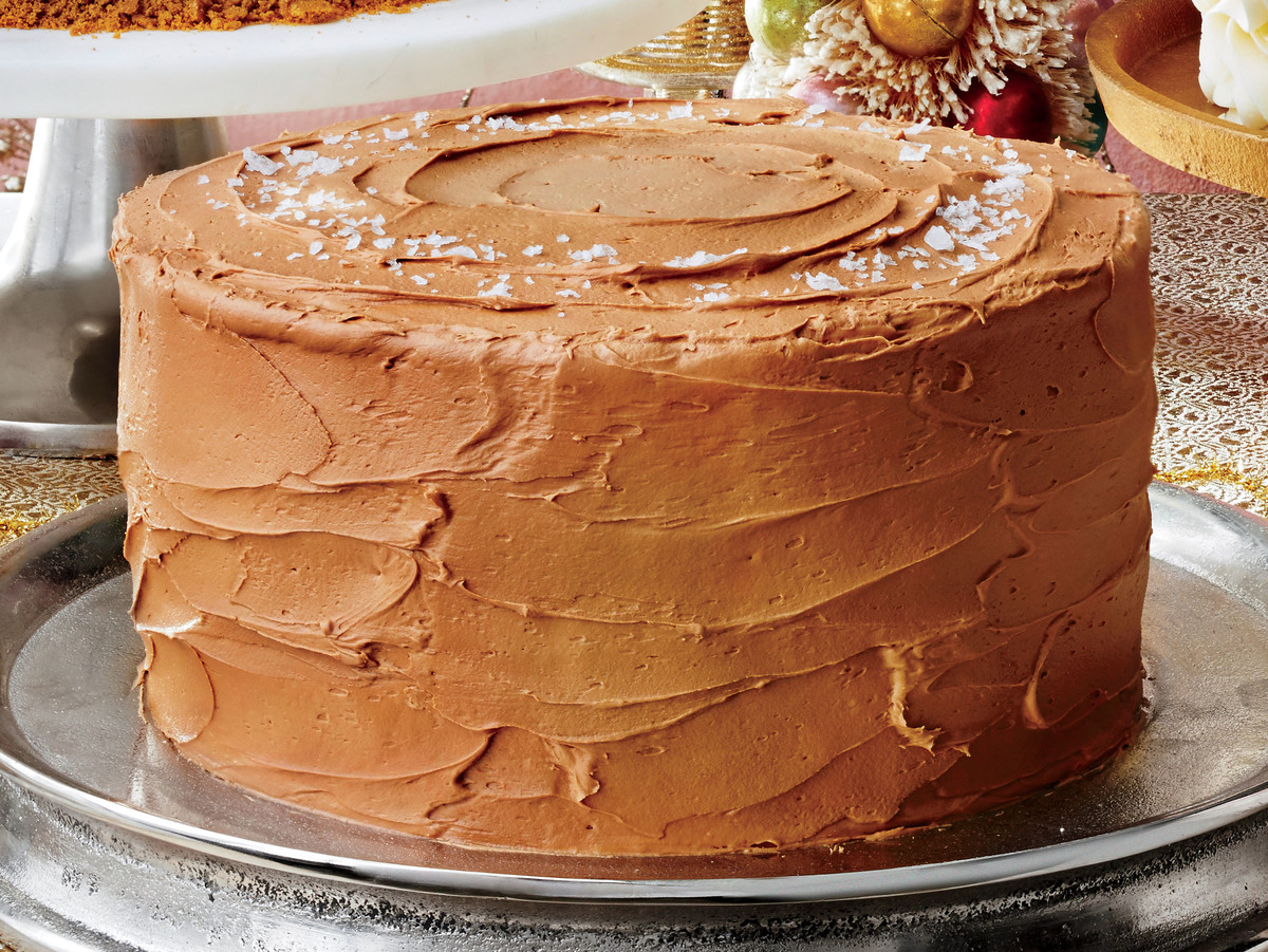 Sea Salt-Caramel Cake