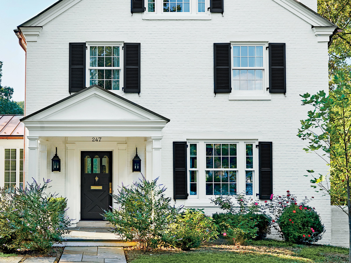 painting your front door this color can increase your home s selling